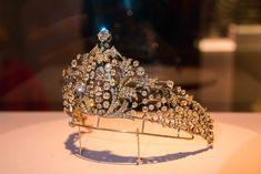 close up of the diamond kokoshnic Faberge made for Tsarina Marie Feodorovna, Royal Tiaras, Tiaras And Crowns, Diamond Tiara, Royal Jewelry, Crown Royal, Queen, Fantasy Jewelry, Crown Jewels, Headpieces