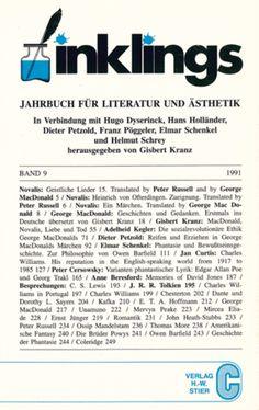 Inklings, Band 9: Jahrbuch für Literatur und Ästhetik - Gisbert Kranz - H.-W. Stier, Lüdenscheid (1991), Taschenbuch, 262 Seiten - ISBN 3922549586