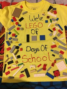 We've LEGO 100 Days of School   100th Day T Shirt