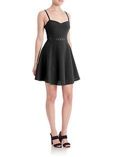 LIKELY - Laser-Cut Neilson Dress