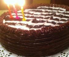 Przepis Tort urodzinowy z orzeszków ziemnych - Widok przepisu Słodkie wypieki