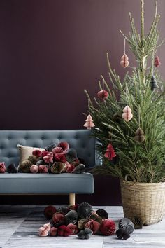 Beautiful Christmas Inspiration By Broste Copenhagen Decor Scandinavian, Scandinavian Christmas, Danish Christmas, Christmas Mood, Noel Christmas, Christmas Christmas, Christmas Wreaths, Christmas Crafts, Christmas Ornaments