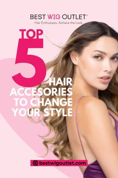 Are you looking for a fresh new hairstyle without spending too much? The answer is actually quite simple: hair accessories. Best Wig Outlet, Increase Confidence, Hair Extensions Best, Hair Loss, You Changed, New Hair, Special Occasion, Cool Hairstyles, Wigs