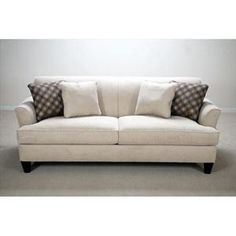 Picture of Contemporary Sofa with Flared Arms