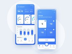 Mobile network operator designed by Petar Vasiljevic 🏀. Connect with them on Dribbble; Ui Design Mobile, Dashboard Design, App Ui Design, Web Design Trends, Interface Design, App Design Inspiration, Mobile App Ui, User Experience Design, App Design