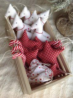Vianočné ozdoby - sada