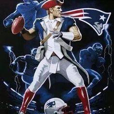New England Patriots, New England Fan, Boston