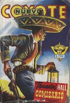 """""""Thunder"""" Hall, comisario. Ed. Cliper, 1951? (Col. Nuevo Coyote ; 61)"""