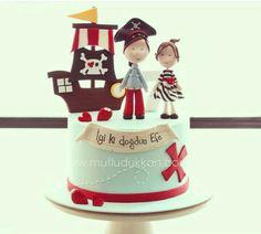 Ocean Cakes, Beach Cakes, Fondant Cakes, Cupcake Cakes, Cupcakes, Beautiful Cakes, Amazing Cakes, Cake Designs For Kids, Monster High Cakes