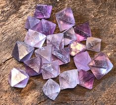 Excited to share the latest addition to my #etsy shop: 1 Piece Purple Fluorite Octahedron Natural Crystals $1.70 each! - Reiki Crystal Specimen Third Eye & Heart Chakra Balance http://etsy.me/2CHe8Y5  #fluorite #natural #phantom #gemstone #protection #reiki #crystals