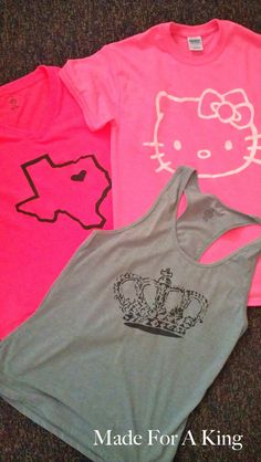 "DIY ""Silk Screen"" T-shirts - GREAT party favor instead of bags of junk!"