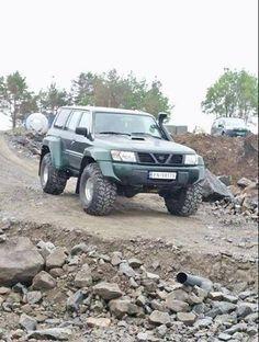 """Nissan Patrol Gr Y61 38"""""""