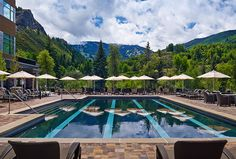 Outdoor Pool with Beaver Creek view