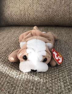 92c3abc861c RARE Defects Ty Beanie Baby Wrinkles 1996 -- Retired