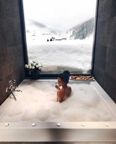 Morning by via ❄️ Zhero hotel Ischgl/Kappl - 5 star Designhotel Design Hotel, Luxury Life, Bath Time, My Dream Home, Future House, Life Is Good, Places To Go, Beautiful Places, Destinations