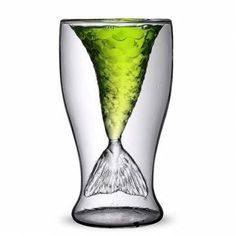 Creative Mermaid Glass Cup Beer Mug Champagne Red Wine Cup