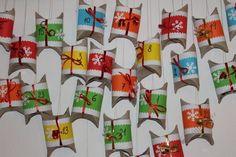 Adventní kalendář Holiday Decor, Advent Calendars, Home Decor, Advent, Decoration Home, Room Decor, Home Interior Design, Home Decoration, Interior Design
