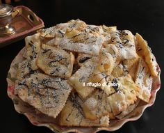 FRAPPE o CHIACCHIERE FRITTE ricetta n° 2 http://ilrifugiodigabry.blogspot.it/2015/02/frappe-o-chiacchiere-fritte-ricetta-n-2.html