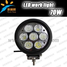 """98.10$  Buy here - http://ali099.worldwells.pw/go.php?t=2038273836 - """"High power 70W Combo Beam 6"""""""" LED Work Light  for Pickup Car Offroad SUV 4WD ATV 4x4 Truck Cree led working lamp Driving Light"""""""