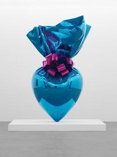 Jeff Koons - Sacred Heart, Blue / Magenta, 1994-2007