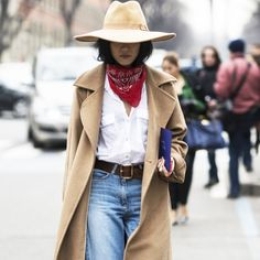 Styling Ideas To Steal From Milan Fashion Week   The Zoe Report. Bandana  StylesScarf ... 227943f20af