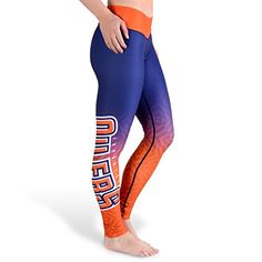 KLEW NHL Edmonton Oilers Women's Gradient Print Leggings, Blue, Medium  http://allstarsportsfan.com/product/klew-nhl-edmonton-oilers-womens-gradient-print-leggings-blue-medium/  88% polyester 12% Elastane 100% officially licensed by KLEW The perfect leggings for game day or any day