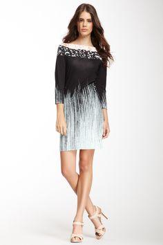 Diane von Furstenberg Ruri Silk Jersey Rockscape Dress