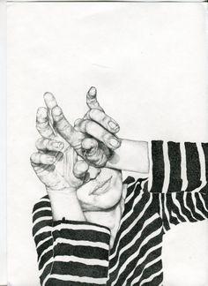 Expresiones arriesgadas y gestos intensos en los retratos de Analisa Aza