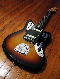 totally wired guitars — 1995 MIJ Fender Jaguar 3TS! A very beautiful little tone monster!!!
