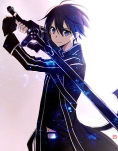 Кирито (Kirito) | Мастера меча онлайн (Sword Art Online) | Gun Gale Online