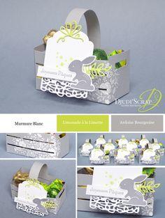 """Easter Baskets """"Framelits Wooden Box"""" - Djudiscrap"""