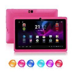 Kool(TM) Rosa Tablet Q88 II Tablet Educativo Per Bambini. Prezzo più basso: EURO  56,99  Tutti i prezzi includono l'IVA.