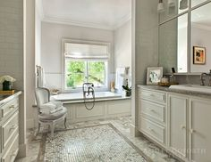 Drop In Tub Ideas - Transitional - bathroom - Milton Development Grey Bathrooms, White Bathroom, Master Bathroom, Serene Bathroom, Bathroom Modern, Bad Inspiration, Bathroom Inspiration, Gray Subway Tile Backsplash, Small Bathroom Organization