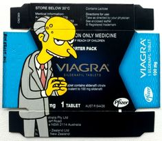 Viagra. Artwork by Ben Frost.