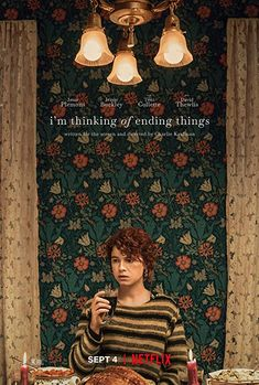 I'm Thinking of Ending Things (2020) Full of misgivings, a young woman travels with her new boyfriend to his parents' secluded farm. Upon arriving, she comes to question everything she thought she knew about him, and herself.