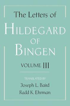 Saint Hildegard of Bingen, Chrisian mystic and writer