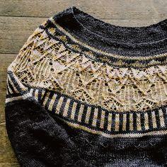 Zweig Knitting pattern by Caitlin Hunter - Pullover stricken Universal Yarn, Baby Scarf, Christmas Knitting Patterns, Lang Yarns, Cascade Yarn, Dress Gloves, Paintbox Yarn, Yarn Brands, Jackets