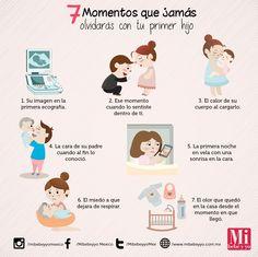 Momentos que jamás olvidarás al tener a tu primer hijo. #AmorChiquito #MamásMIB