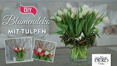 How to: hübsche Frühlingsblumendeko mit Tulpen | Deko Kitchen