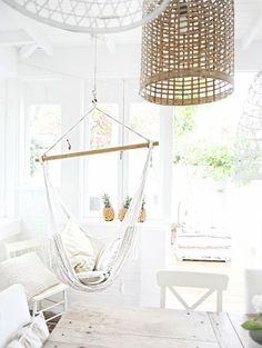 hammock back in beach cottage land