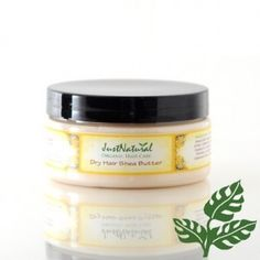 Organic Dry Hair Shea Butter - an organic/vegan leave in hair conditioner