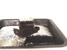 Arabafelice in cucina!: Tortina magica al cioccolato senza uova, burro, latte nè... ciotola!