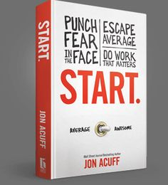 Start. by Jon Acuff   Jon gave us copies at Blissdom, so I'm halfway through already, but you can pre-order {it's out at the end of April 2013}  This would be a perfect graduation present.  It's all about figuring out what you want to do and how to make it happen before realizing that you've wasted all the time in the world being average... and even reading it after you've made that mistake and choosing to START now.