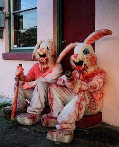 Bloody rabbit costumes
