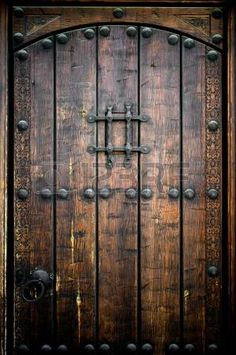 Grunge Wood Door Backdrop weathered dark wooden by BackdropDesign Fabric Photography, Background For Photography, Photography Backdrops, Medieval Door, Medieval Castle, Legends And Myths, Old Doors, Entry Doors, Barn Doors