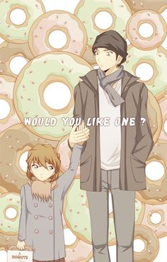 --Akai Shuichi and Haibara-- The sprinkles! ha
