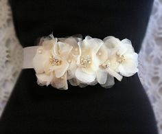 Champagne Bridal Sash Wedding Accessories Wedding by FancieStrands, $135.00