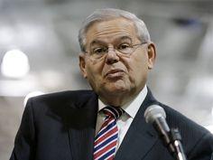 AP Photo/Mel Evans  After Indictment, Dems Line Up to Defend Robert Menendez