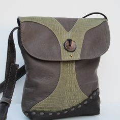 LEATHER SHOULDER POUCH  For The Love Of Trees #handbags #purse #cute #pretty