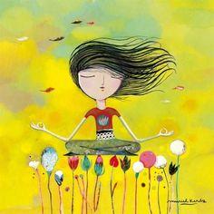 ✨💚✨ Synergy It Works/Wraps ✨✨Yoga means addition of strength, energy and beauty to mind body and soul -- namaste🙏 Pranayama, Kundalini Yoga, Yoga Pictures, Cute Pictures, Yoga Images, Yoga Kunst, Image Zen, Illustration Photo, Yoga Art